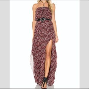 Cinq a sept boho maxi dress NWOT